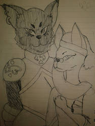 Guard and Doctor - Grizelda and Kamuzu