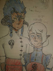 Ibisa's Parents! - Hibette Locus and Jaran Oronir