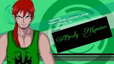 My OC: Broly Kamino SHSL Warrior and SHSL Kai  by Dragonoisus