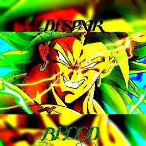 Broly The Legendary Super Saiyan  by Dragonoisus