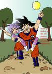 Goku and Jagaimo