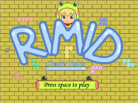 Rimid - Classic Tetris Game! by Goddreary