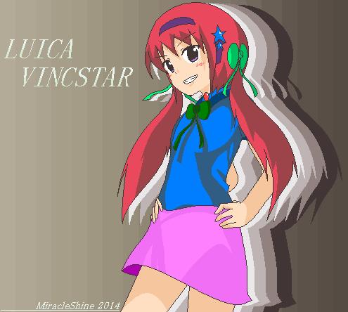 OC: Luica Vincstar by Goddreary