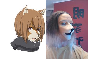 Inukai Face Test by mattdoylemedia