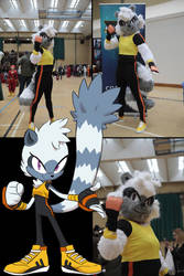 Tangle the Lemur Cosplay (MCSF 2018)