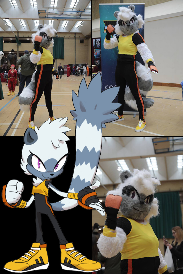 Tangle the Lemur Cosplay (MCSF 2018) by mattdoylemedia