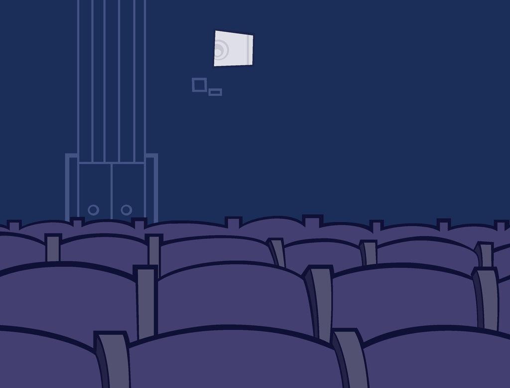 Movie Theater Background By Zartist2017 On Deviantart