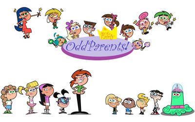 The All New Fairly OddParents! Title Card by ZArtist2017