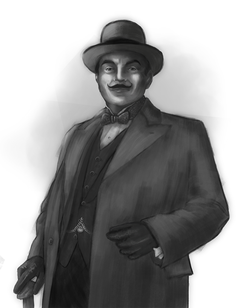 [Gift] Hercule Poirot by Amolitacia