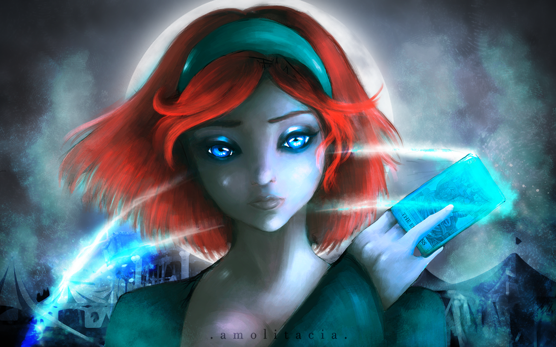 Lydess - the Fortune Teller by Amolitacia