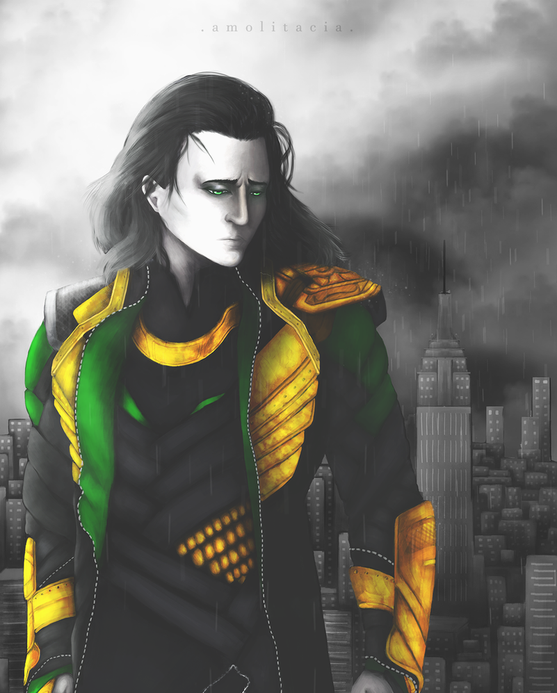 Loki - The Queen is Dead, Long Life to the King by Amolitacia