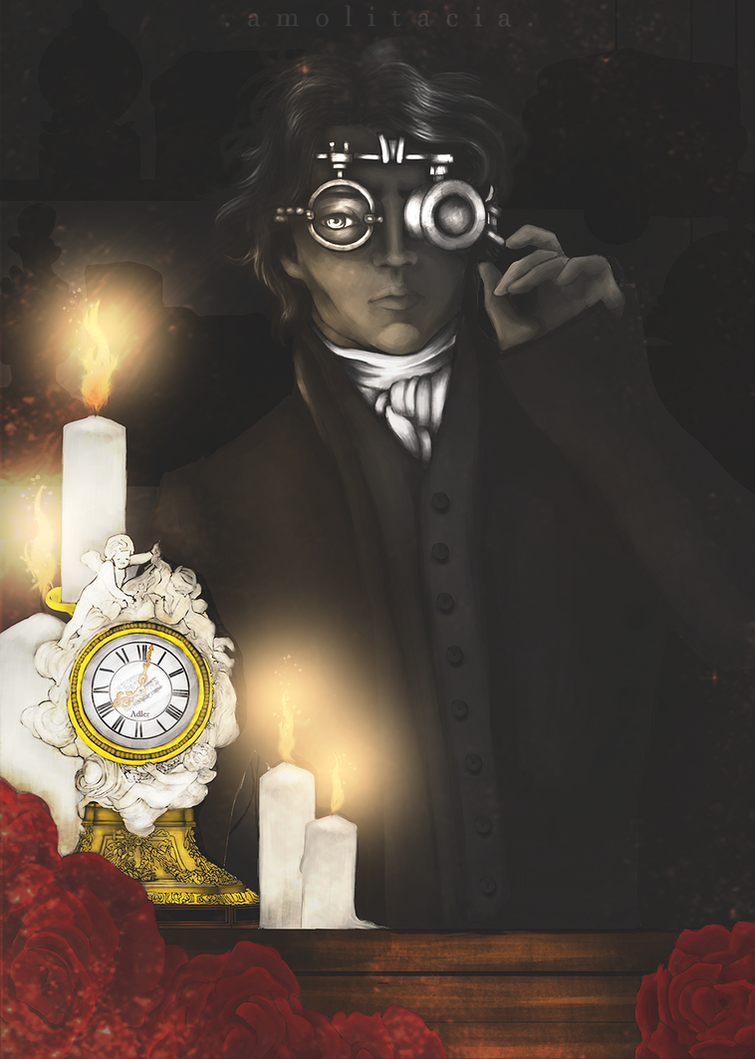 Felix - the Clockmaker by Amolitacia