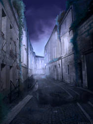apocalyptic french city