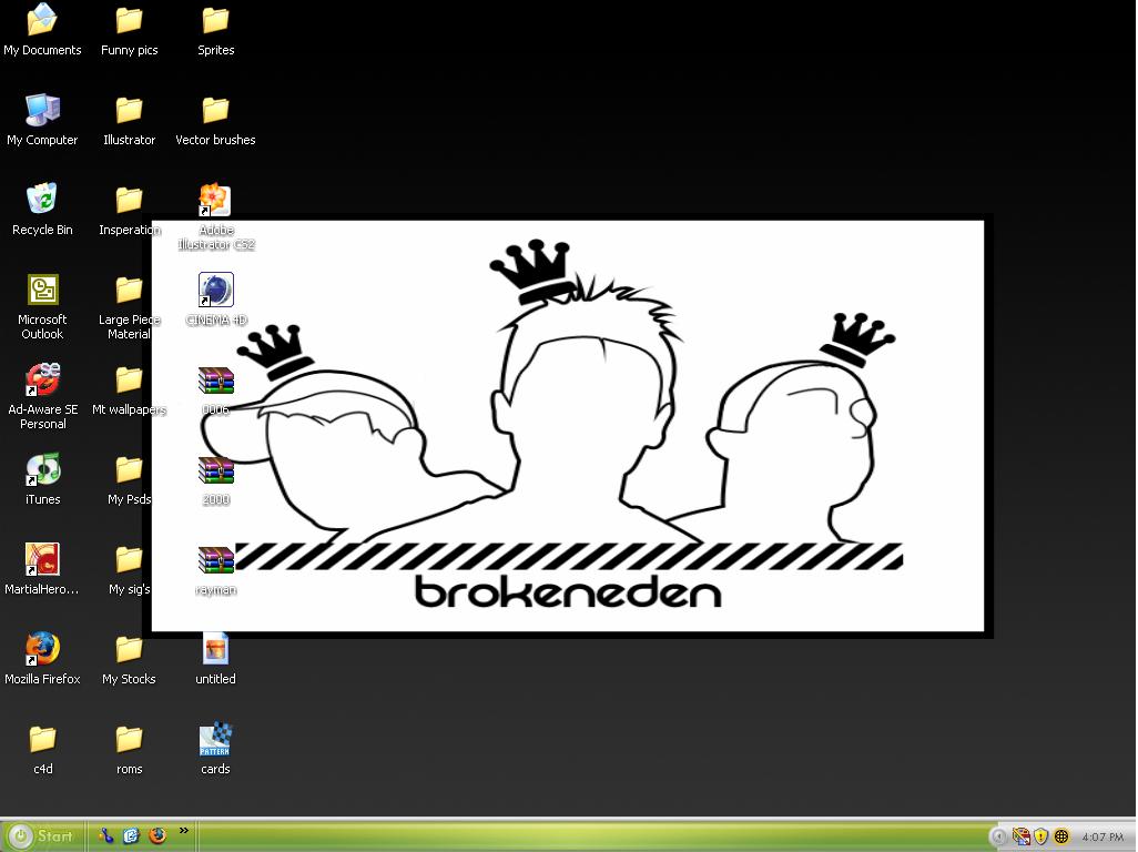 Desktop by ShiFTt