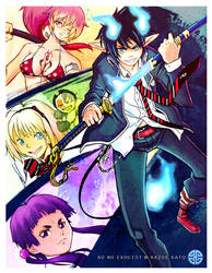 Blue Exorcist by Rikyo
