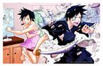 BLEACH-Tatsuki Attack