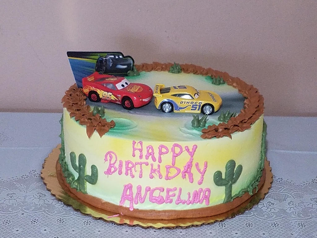 Cars 3 Birthday Cake By Paforex On Deviantart