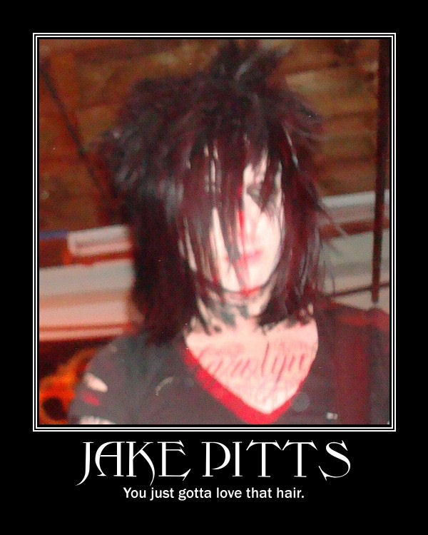 Jake Pitts..and his hair by side6