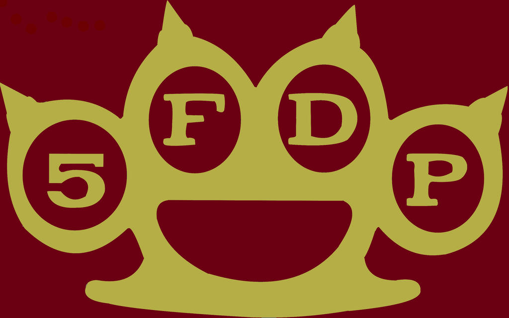 5FDP Logo  War Is The Answer Colored By