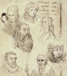 Dungeons and Dragons sketches