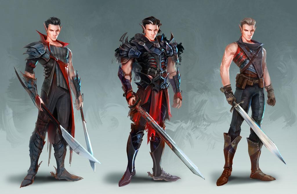 Dark Elf costume design by soyabeansoldier