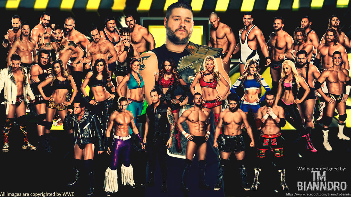 WWE NXT Wallpaper By TM Bianndro Naibafundead