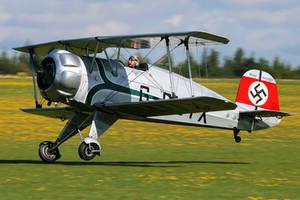 Bucker  BU-133C Jungmeister by Daniel-Wales-Images