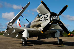 Douglas AD-4N Skyraider by Daniel-Wales-Images