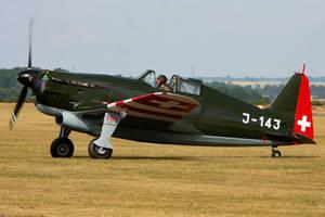 Morane Saulnier D-3801 by Daniel-Wales-Images