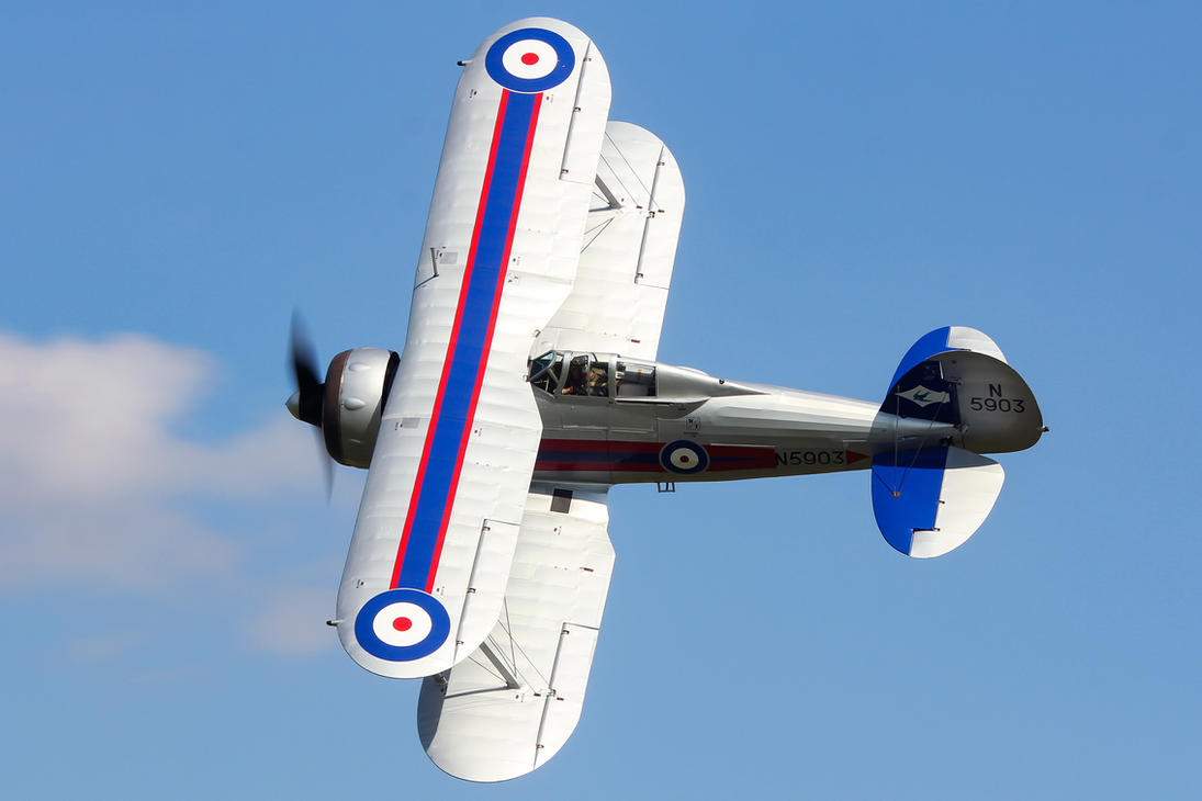 Gloster Gladiator by Daniel-Wales-Images