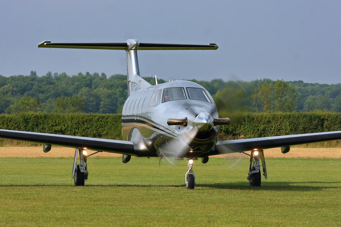 Pilatus PC-12/47E by Daniel-Wales-Images