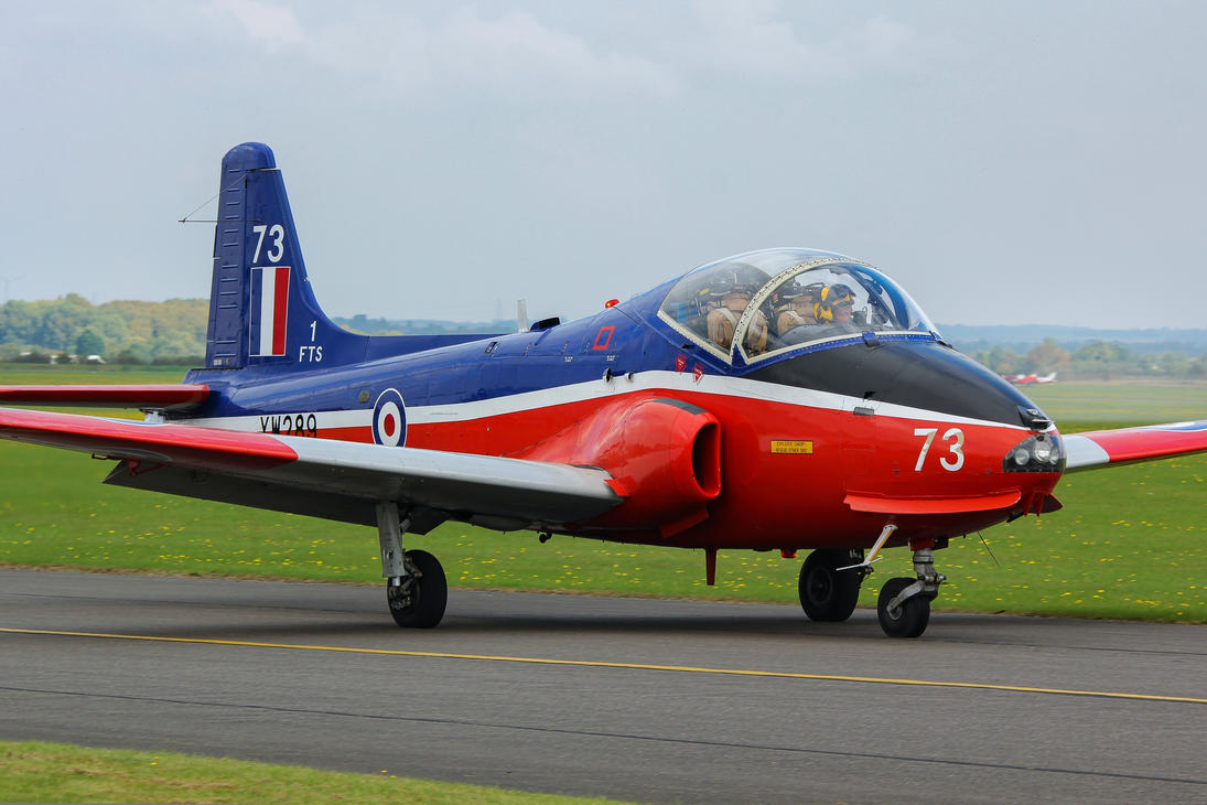 BAC Jet Provost T.5 by Daniel-Wales-Images