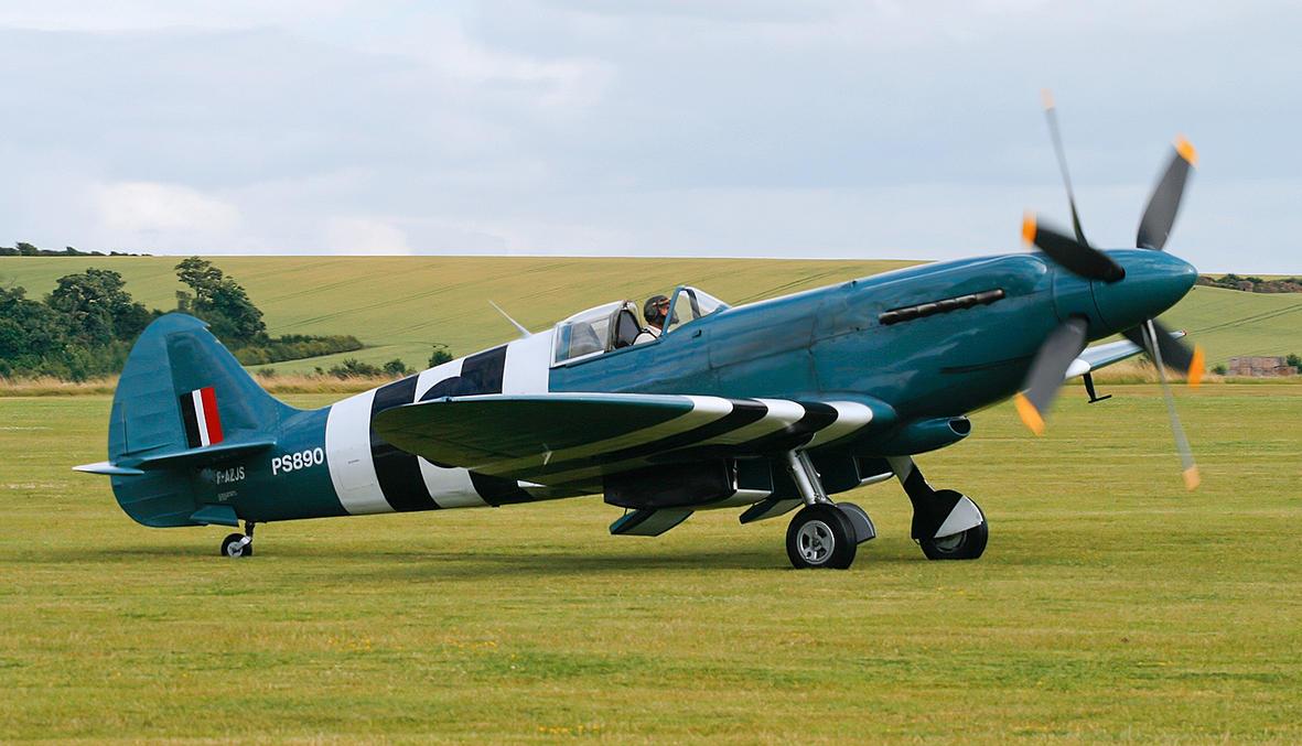 Supermarine Spitfire PR.XIX by Daniel-Wales-Images