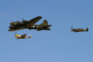 Bomber and Escort by Daniel-Wales-Images