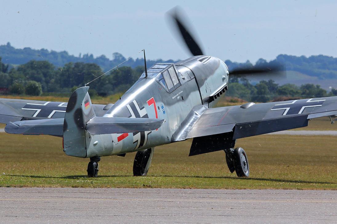 Messerschmitt ME109 G-4 by Daniel-Wales-Images