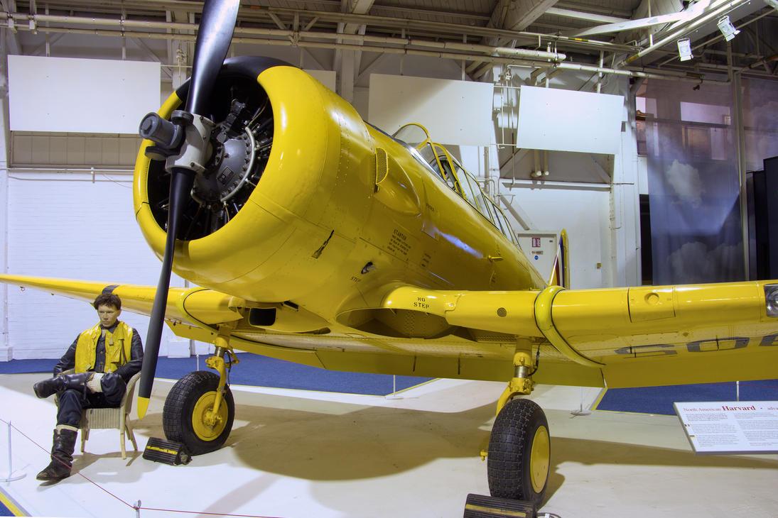 Noorduyn AT-16 Harvard Mk.IIb by Daniel-Wales-Images