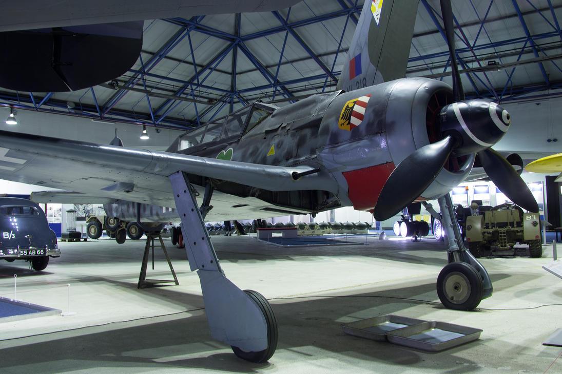Focke Wulf FW-190 F-8/U1 by Daniel-Wales-Images
