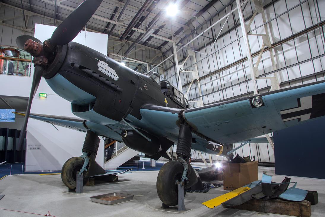 Junkers JU-87 G-2 Stuka by Daniel-Wales-Images