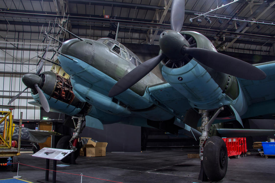 Junkers JU-88 R-1 by Daniel-Wales-Images