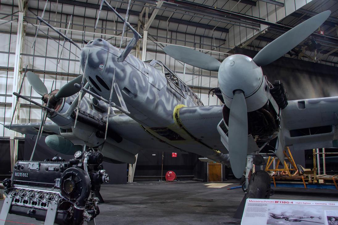 Messerschmitt BF-110 G-4 by Daniel-Wales-Images