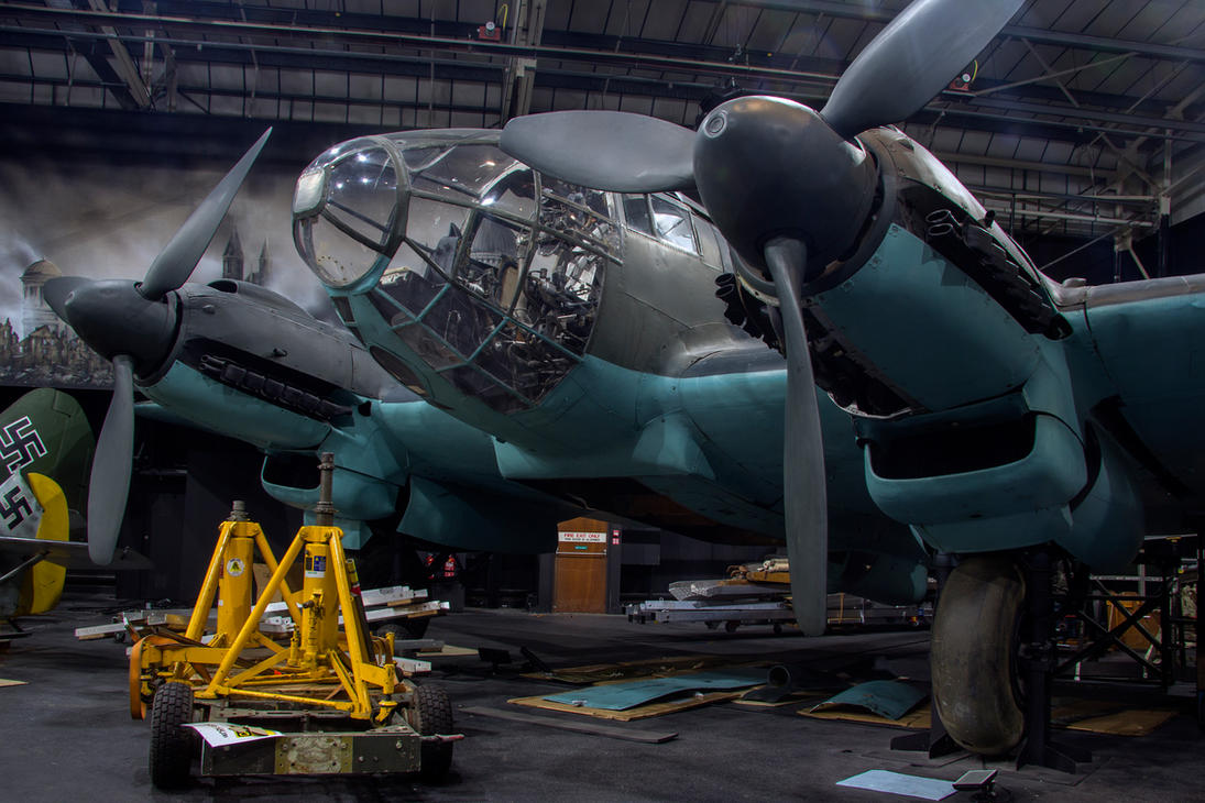 Heinkel HE-111 H-20/R1 by Daniel-Wales-Images