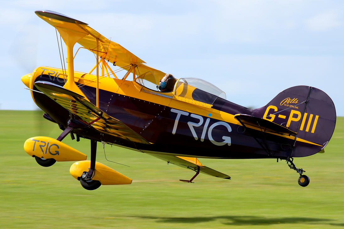 Pitts S.1D Special (Trig Team) by Daniel-Wales-Images