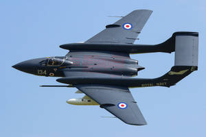 de Havilland Sea Vixen FAW2 by Daniel-Wales-Images