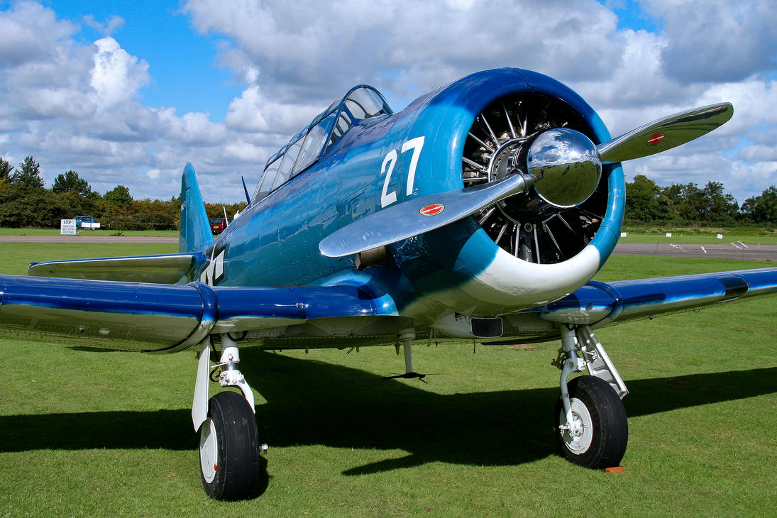 North American SNJ-7C by Daniel-Wales-Images