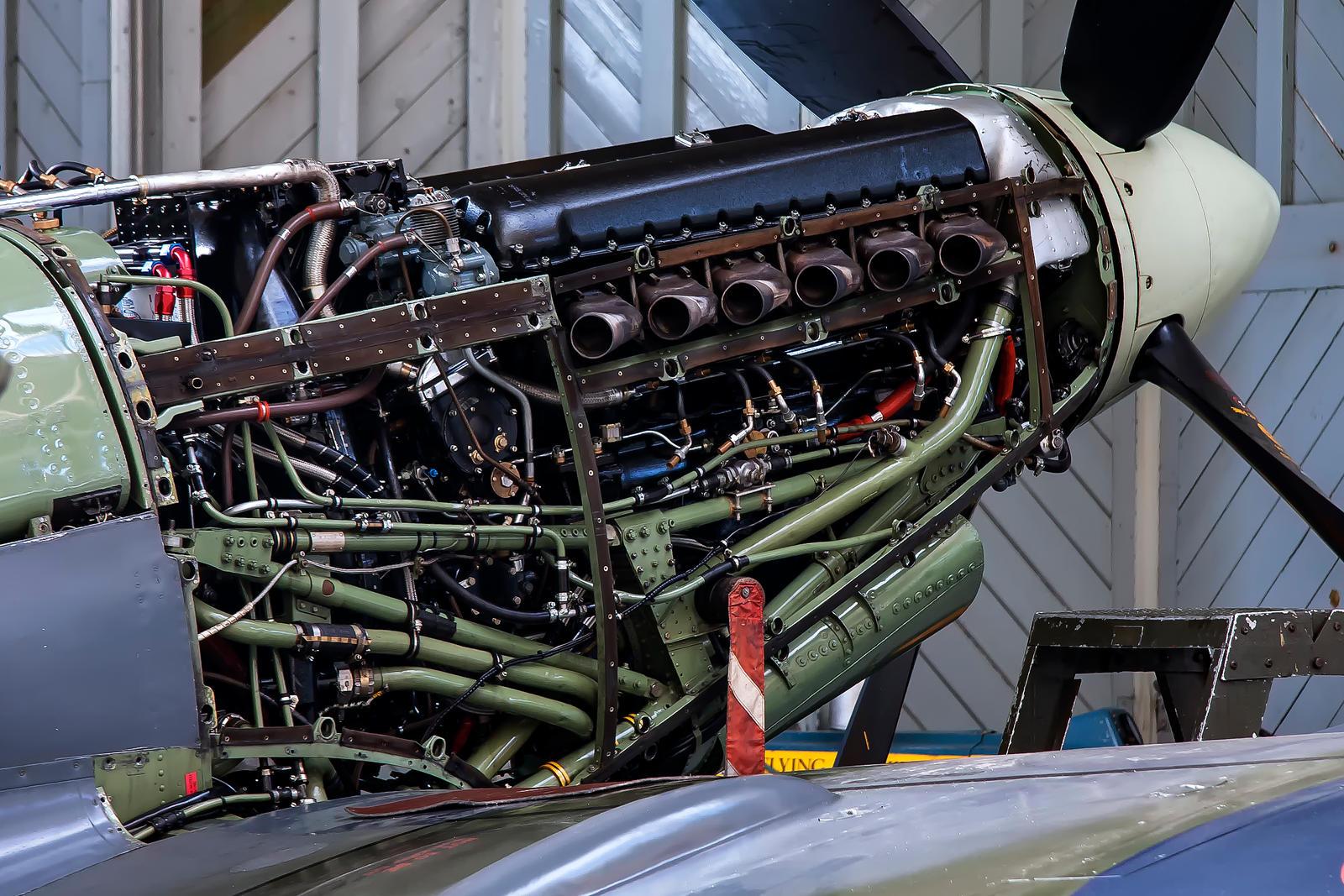 Rolls Royce Merlin 66 by Daniel-Wales-Images
