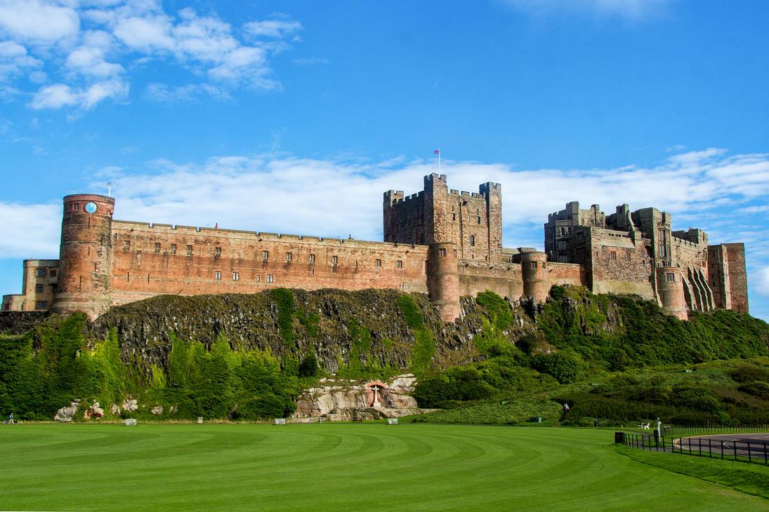Bamburgh Castle by Daniel-Wales-Images