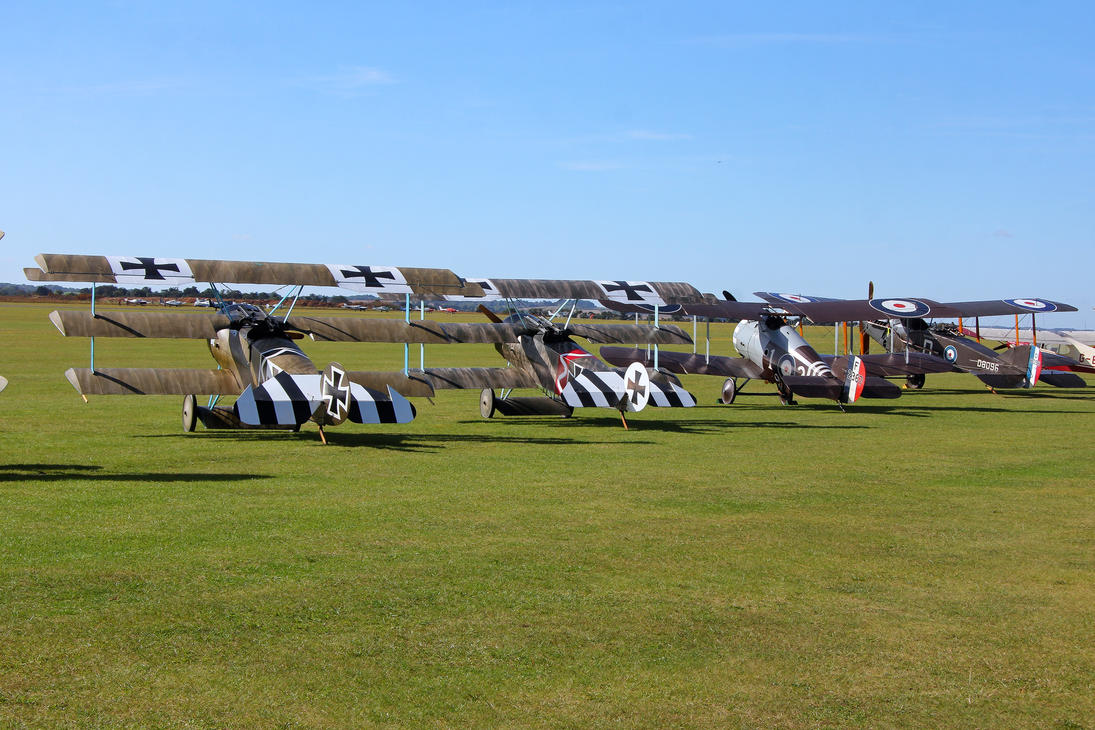 Biplanes and Triplanes II by Daniel-Wales-Images