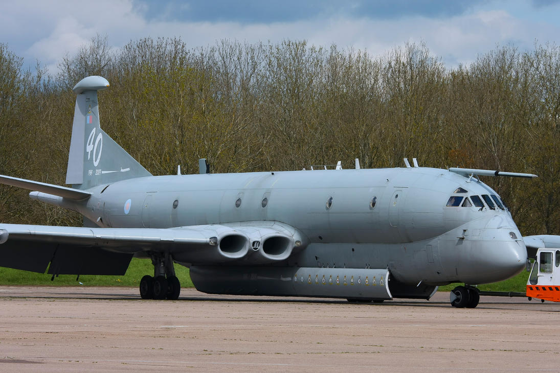 Hawker Siddeley Nimrod MR.2 by Daniel-Wales-Images