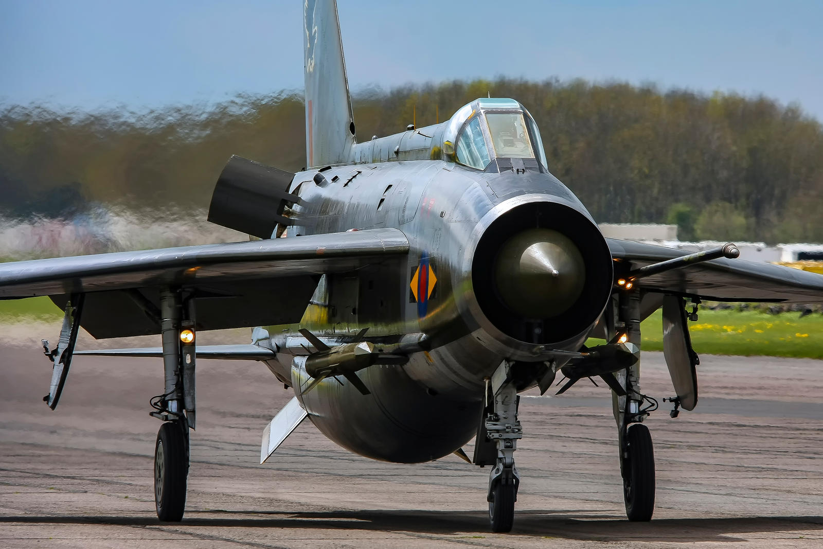 English Electric Lightning F.6 by Daniel-Wales-Images
