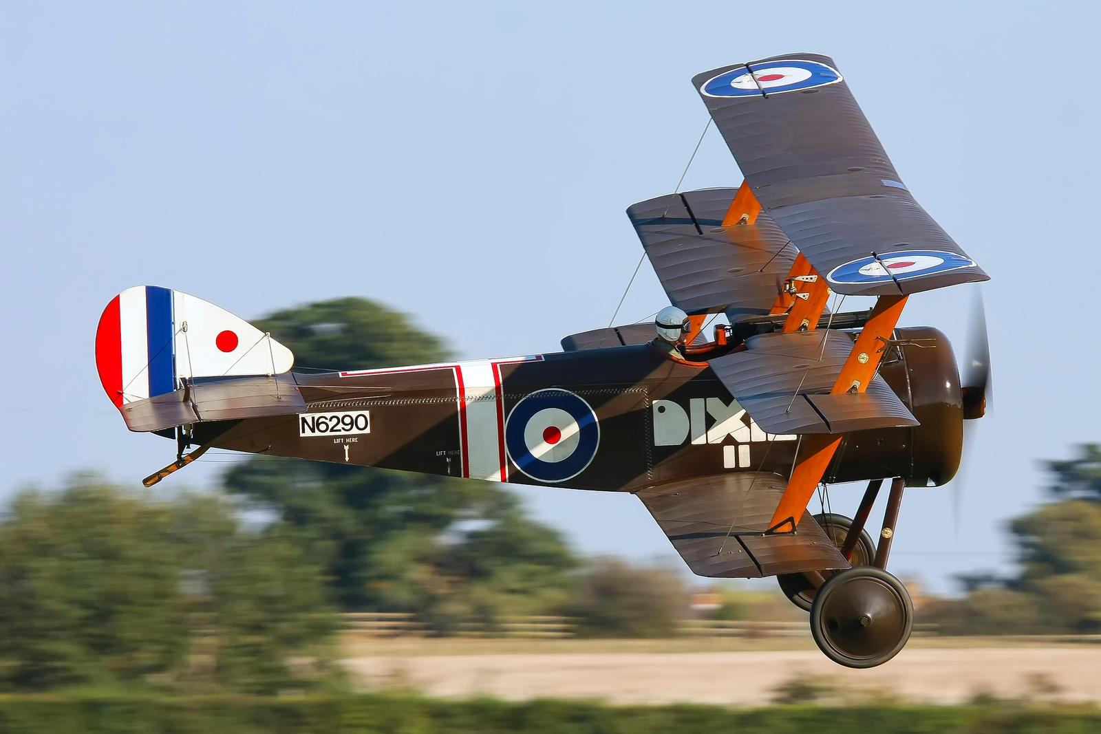 Sopwith Triplane (Reproduction) by Daniel-Wales-Images